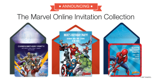 Introducing The Marvel Online Invitation Collection from Punchbowl!
