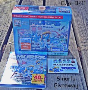 Smurfs #Giveaway + Smurfs Popcorn Recipe {US, 8/11/17}