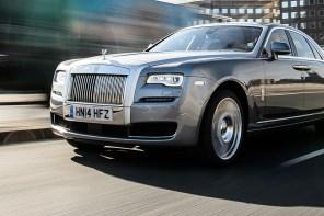 """Die Ghost Series II wird zum """"Best Luxury Car"""" der Briten gekürt"""