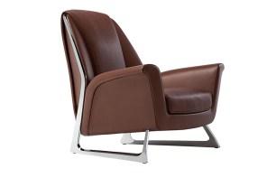 """Der Sessel """"Luft"""" vereint Handwerk und High-Tech"""