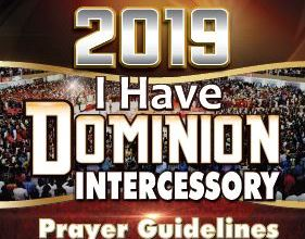 Photo of Winners' Intercessory Prayer Guidelines 2019 – 'I Have Dominion'
