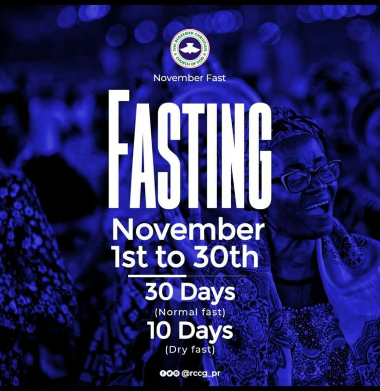 RCCG November 2019 30 Days Fasting Prayer Points Day 10, RCCG November 2019 30 Days Fasting Prayer Points Day 10