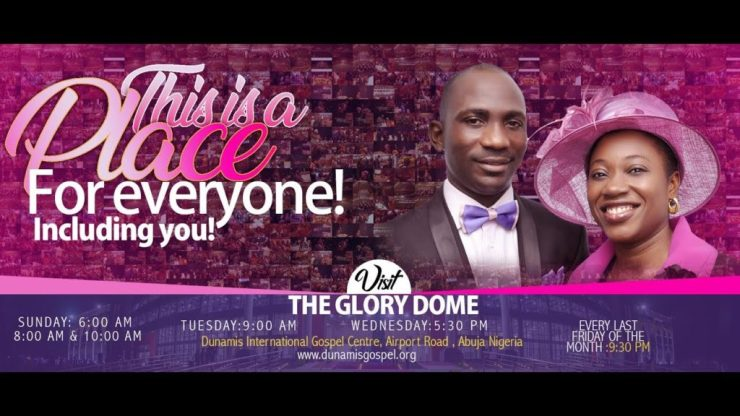 Dunamis 24th May 2020 Sunday Live Service at Glory Dome