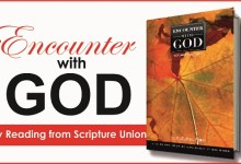 Scripture Union Encounter With God 24th October 2020, Scripture Union Encounter With God 24th October 2020 – Lessons To Be Learned