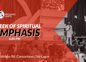 Winners' Chapel Live Service 3rd April 2020 with Bishop David Oyedepo