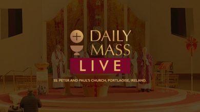 Catholic Live Sunday Mass 25th October 2020 At Ss. Peter & Paul's Church, Ireland