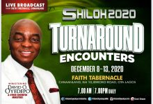 Shiloh 2020 Turnaround Encounter 8th - 13th December 2020, Shiloh 2020 Turnaround Encounter 8th – 13th December 2020 Intercessory Prayer Guidelines