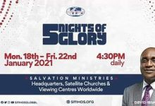 Watch 5 Nights of Glory (5NOG) 2021 Day 3 with Pastor David Ibiyeomie, Watch 5 Nights of Glory (5NOG) 2021 Day 3 with Pastor David Ibiyeomie