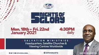 Watch 5 Nights of Glory (5NOG) 2021 Healing School Day 3, Watch 5 Nights of Glory (5NOG) 2021 Healing School Day 3 with Pastor David Ibiyeomie