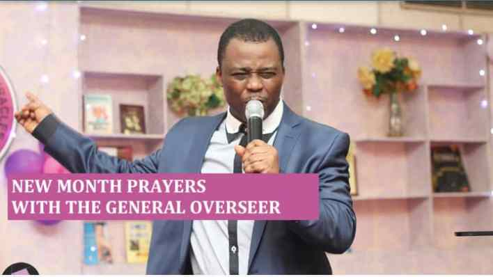 MFM New Month Prayer Points for March 2021