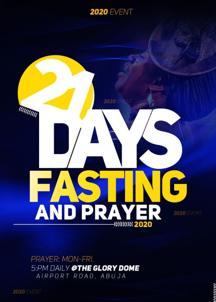 Dunamis 21 Days Fasting And Prayer Points for 14th January 2021 - Day 11, Dunamis 21 Days Fasting And Prayer Points for 14th January 2021 – Day 11