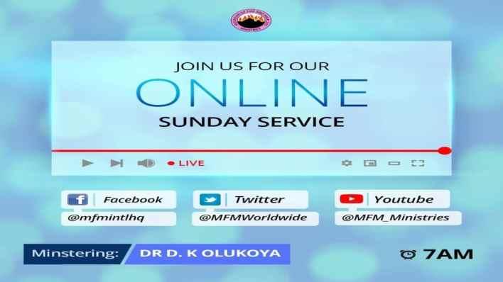 MFM Sunday Service 20 June 2021 Live with Dr D. K. Olukoya