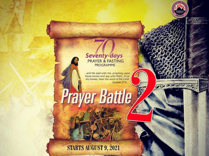 Day 66: MFM Fasting And Prayer 13 October 2021 (Points)