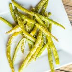 Creamy Garlic Green Beans