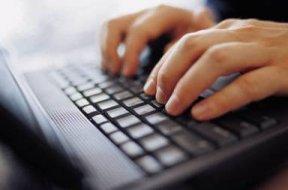 typing on laptop2