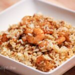 Easy Italian Herb Shrimp Pilaf #sauteexpress #sundaysupper