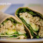 Lemon Pepper Chicken Wraps w/ Lemon Pepper Sauce #WeekdaySupper #SauteExpress