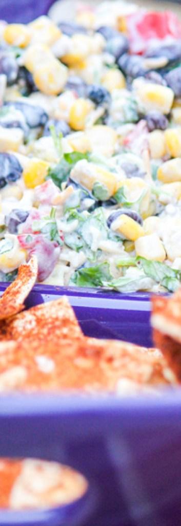 Potluck-Corn-Black-Bean-and-Cilantro-Salsa-Dip-for-a-Crowd
