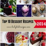 Top 10 Dessert Recipes from 2014