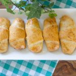 Creamy Chicken and Mushroom Stuffed Croissants
