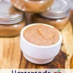 Easy Homemade Apple Sauce