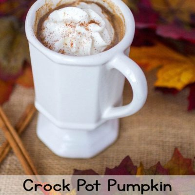 Crock Pot Pumpkin Spiced Latte #srcholidaytreats