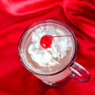 Cherry Marshmallow Cordial Hot Chocolate