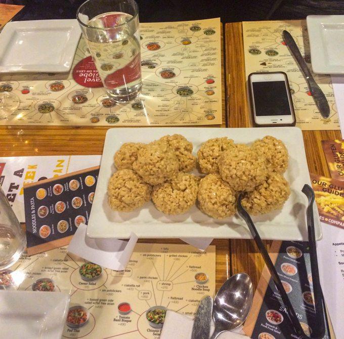 Rice-Krispy-Balls
