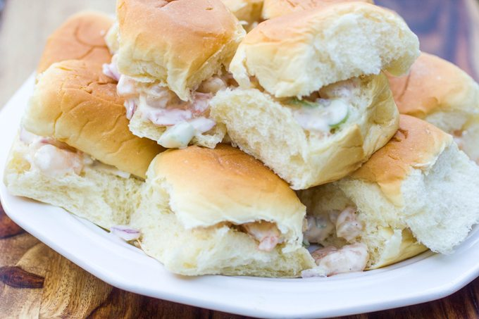 Classic Shrimp Roll Sliders #SundaySupper