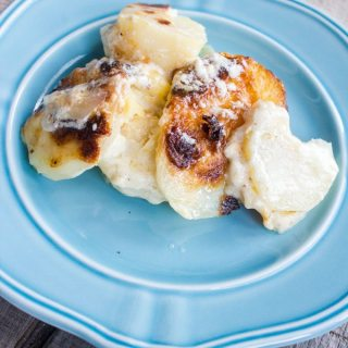 Princely Potatoes or Potatoes Dauphinoise