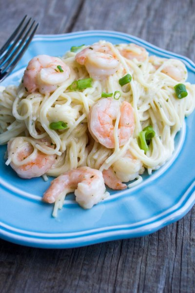 Shrimp Scampi Pasta #SundaySupper