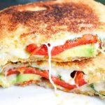 Avocado Bacon Gourmet Grilled Cheese Sandwich #SundaySupper