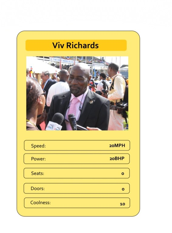 Mega Trumps from The Daily Distress - Viv Richards