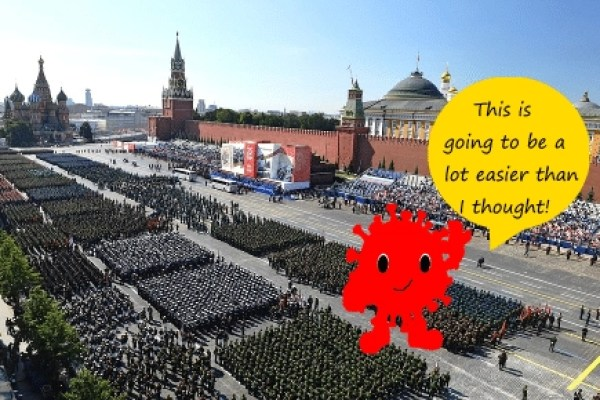 putin coronavirus daily distress satire memes