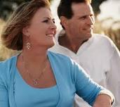 couple happy about future daily dividend income portfolio