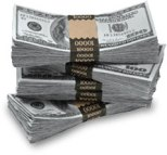 pile of cash from daily dividend investor income portfolio