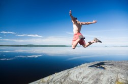 risk taker jumps off cliff investing high yield daily dividend investor income