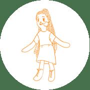 Textile-dolls