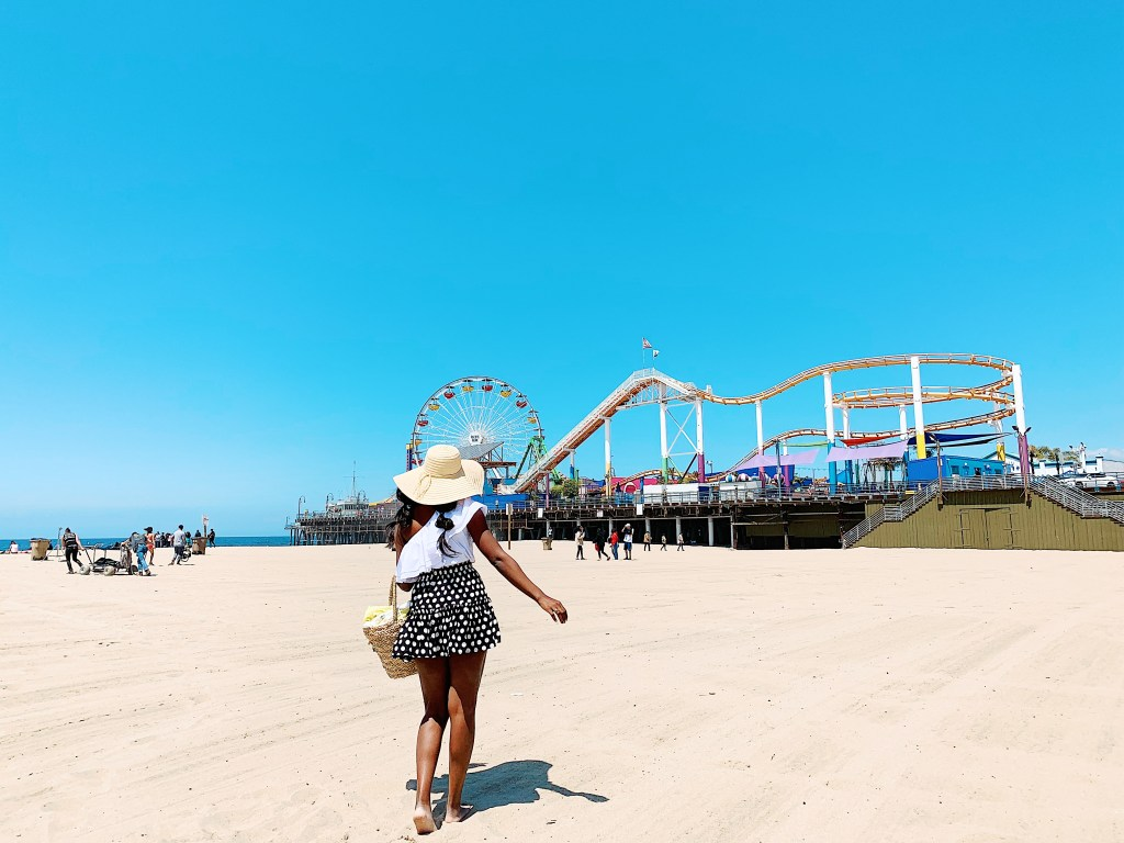 Santa Monica beach! Most Instagrammable Spots in LA!