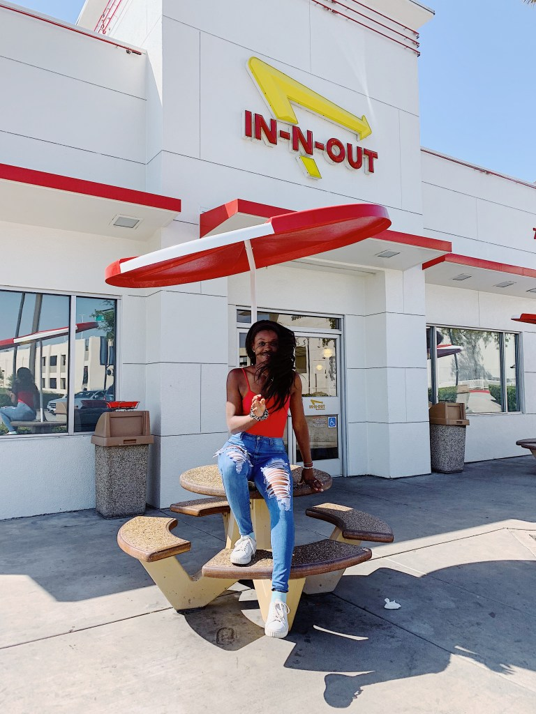 In and Out Burger Instagram