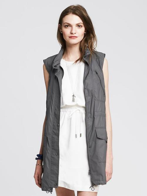 Banana Republic Army Vest