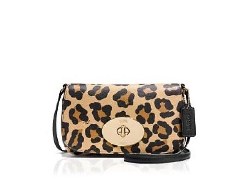 coach leopard bag