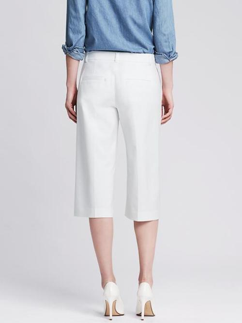 back view banana republic culottes