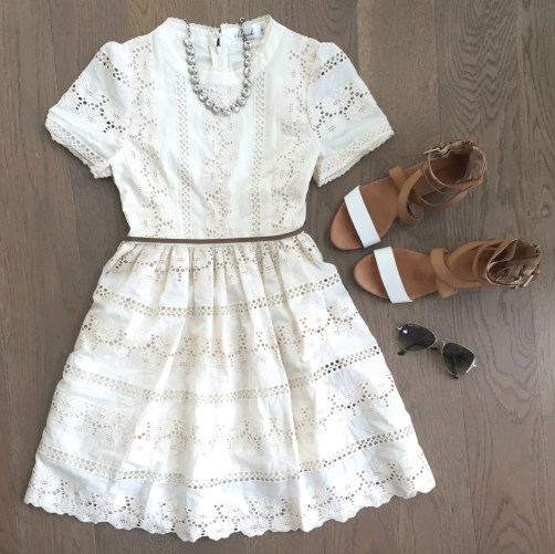 chicwish lace dress outfit