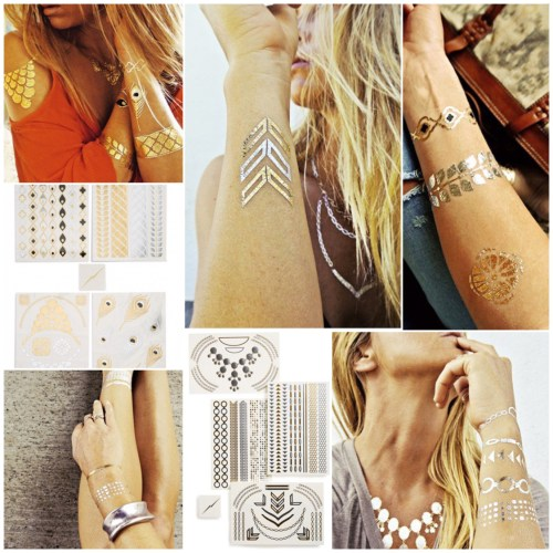 temporary flash tattoos