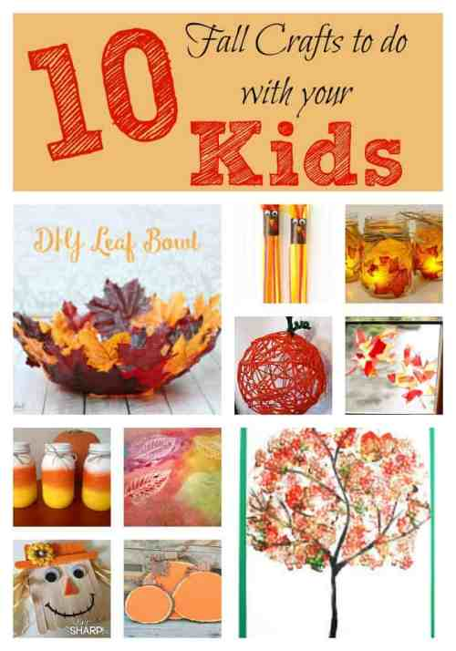 11 Fun Fall Crafts