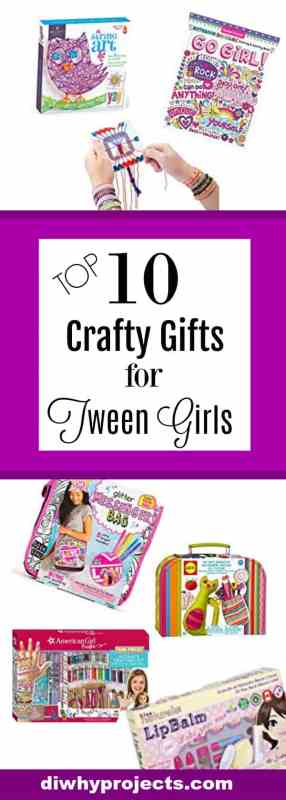 Craft Gifts for Tween Girls 2017 Christmas Gift Guide