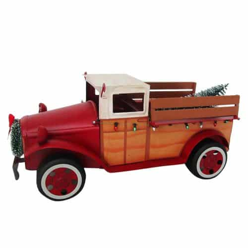 Best Places To Find The Vintage Red Truck for Christmas