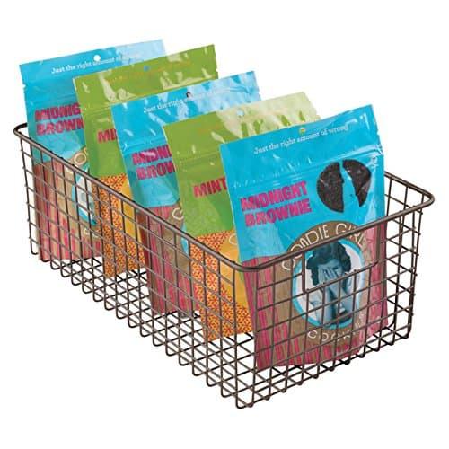 pantry organization basket tall