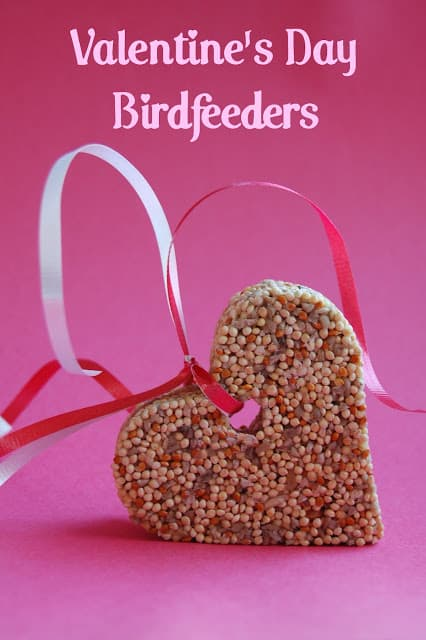 Valnetine's Ideas Heart Bird Feeder